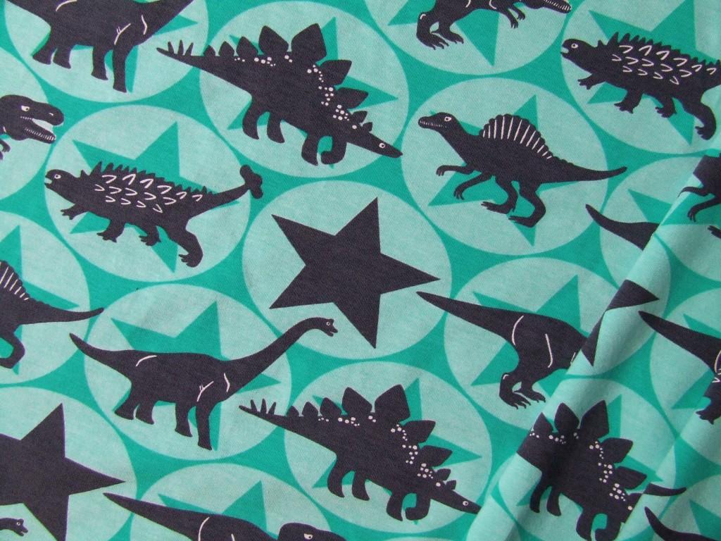 Dinosaurier Stoff